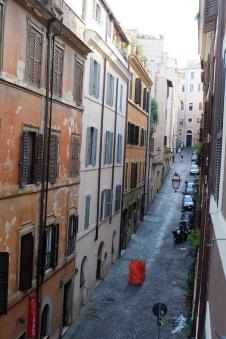 Quiet side street in Monti