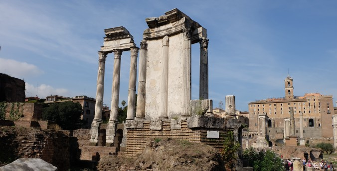Temple of Castor and Pollux and Temple of Vesta