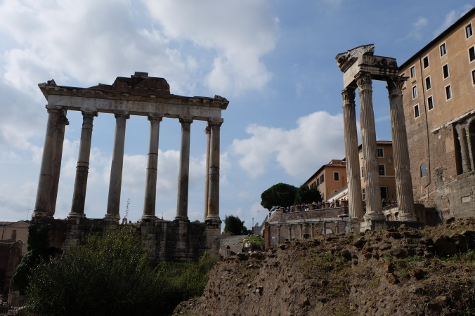 Temple of Saturn and Temple of Vespasian & Titus