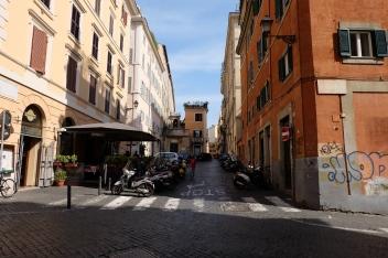 Opposite Piazza della Madonna dei Monti