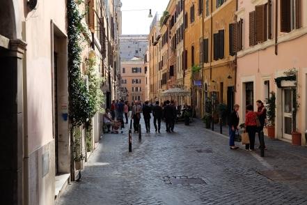 Italian style on Via del Boschetto