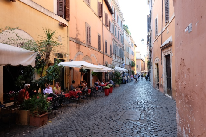 Street in Trastevere