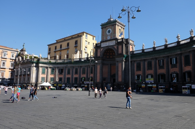Piazza Dante and Convitto Nazionale Vittorio Emanuele II