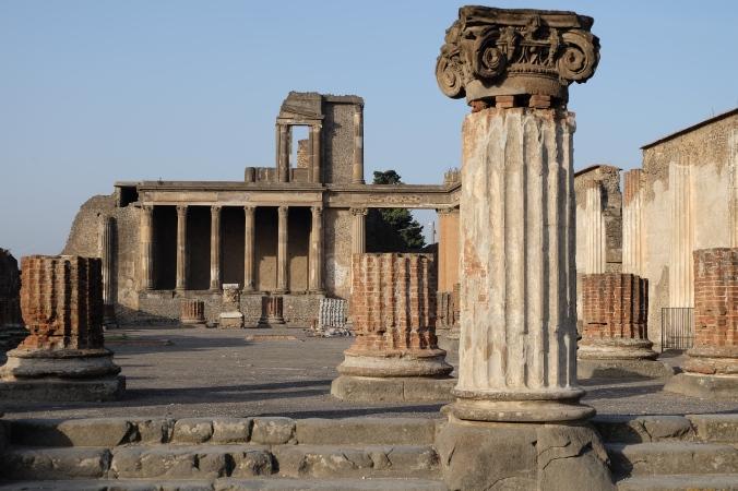 Bascilica at Pompeii