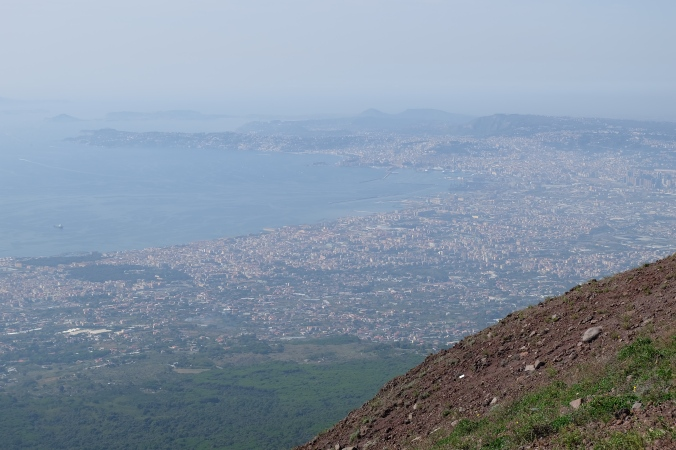 Looking toward Naples