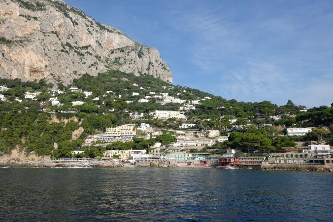 Marina Piccola on isle of Capri