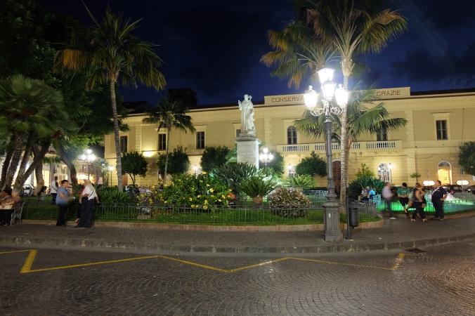 Piazza Sant'Antonino in Sorrento