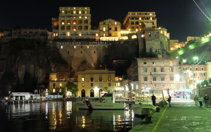 Looking up to Sorrento