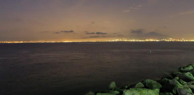 Looking toward Naples from Sorrento