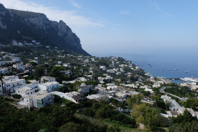 View from the town of Capri