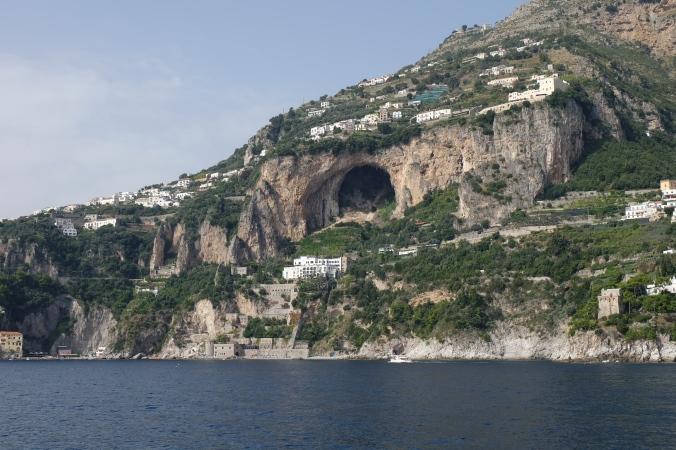 Sailing to Positano