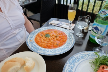 Gluten-free gnocchi at Foreigners Club in Sorrento