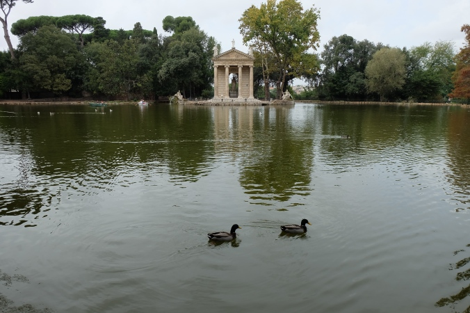 Temple of Aesculapius at Villa Borghese