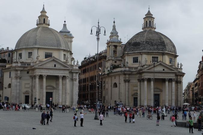 Santa Maria in Montesanto and Santa Maria dei Miracoli