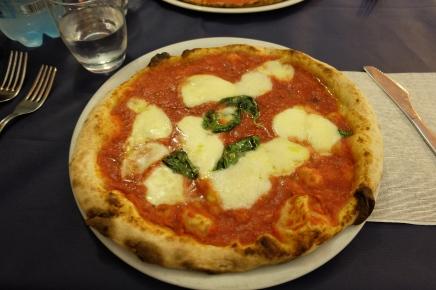 Last pizza in Rome