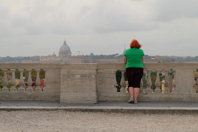 Favourite 2014 travel photos.  Rome, Italy.  October 2014.