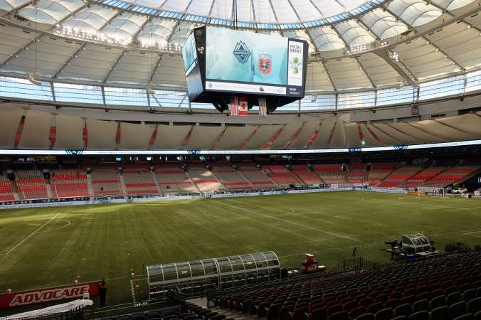 Inside BC Place