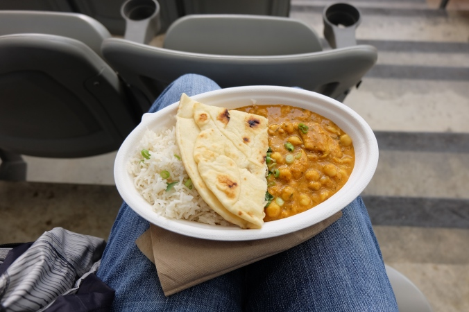 Vij's curry at the game