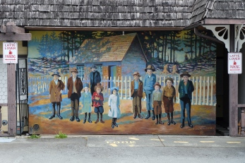 Murals in Chemanius, BC
