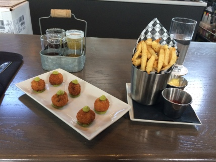 Snacks at Steel Toad