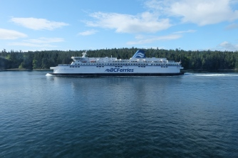 Ferry ride to Victoria