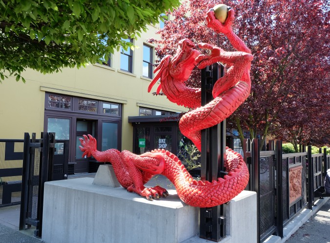 Red Dragon by Ping Tsing