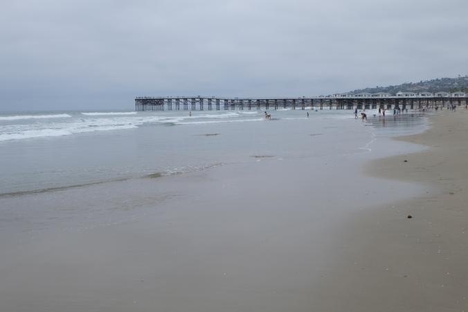 Pier at Pacific Beach