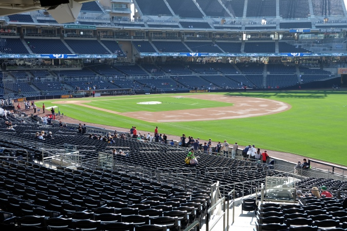 Petco Park from right field seats