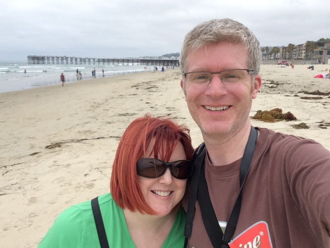 Us at Pacific Beach