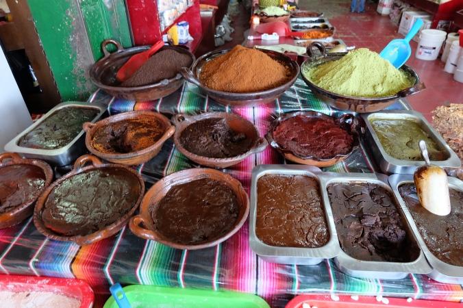 Moles Tijuana market