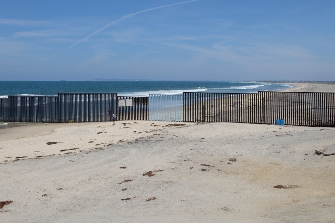 USA-Mexico border