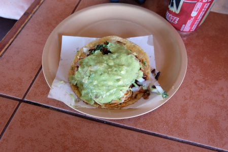 Pork taco in Tijuana