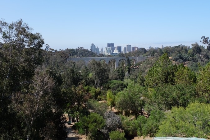 Cable car over the San Diego Zoo