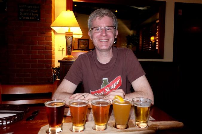 Coronado Brewing Company beer tasting