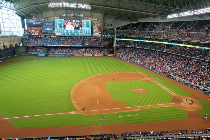 Astros-Rangers game