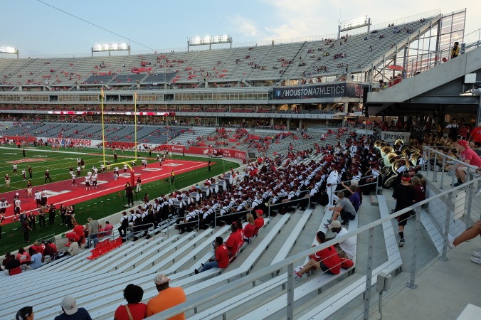 Pregame, Texas State band