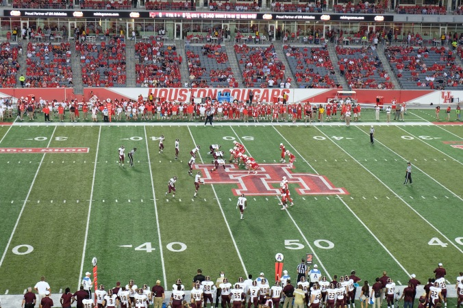 View of UH game from my seat