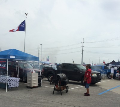 Tailgating in Houston