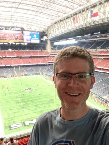 Me at Houston Texans game