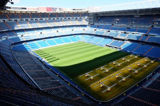 View of Santiago Bernabéu