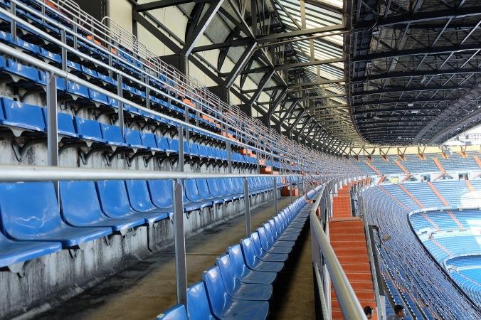Upper deck at Santiago Bernabéu