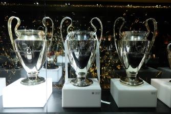 UEFA Champions League trophies