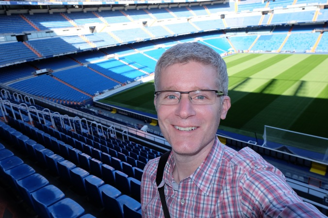 Me at Bernabéu