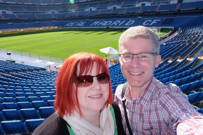 Us at Bernabéu