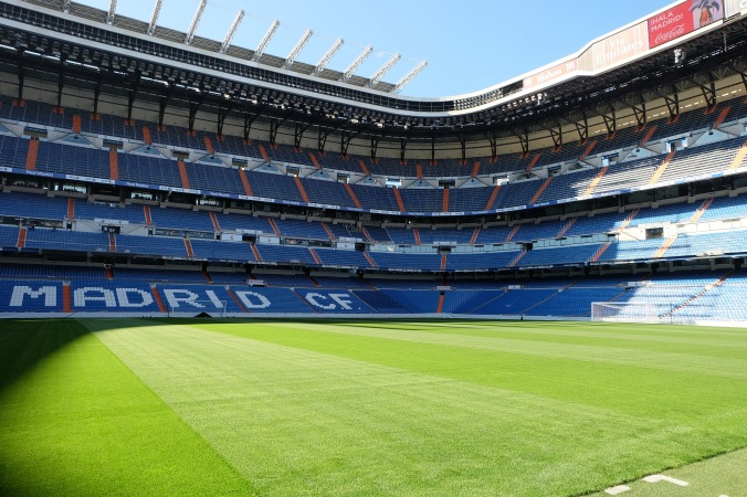 Field level at Bernabéu