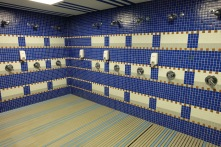 Where Real Madrid showers