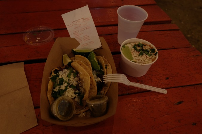 Torchy's tacos and Mexican corn