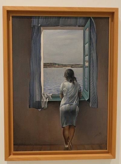 """Girl at the Window"" by Salvador Dali"