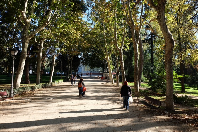 Late afternoon in Retiro Park