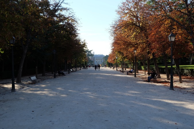 Fall day in El Retiro